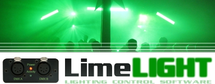 LimeLIGHT Lighting Control Software